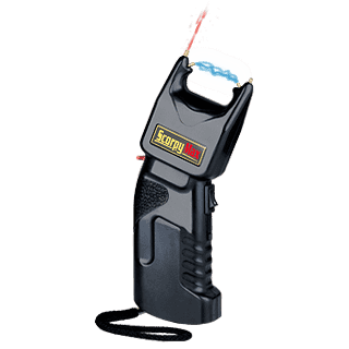 SCORPY Max stun gun with a pepper spray – 500 000 V