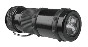Additional flashlight for expandable baton BL-01