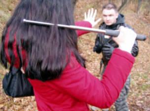 "Telescopic baton in practice or ""Quick and easy use of the baton"" on DVD"