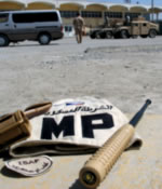 The ESP baton somewhere in Afghanistan