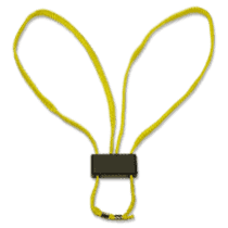 Textile disposable handcuffs HT-01-Y (yellow)