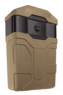 Plastic holder for magazine 5.56 of the rifle M16 / M4 / AR15 (khaki colour)
