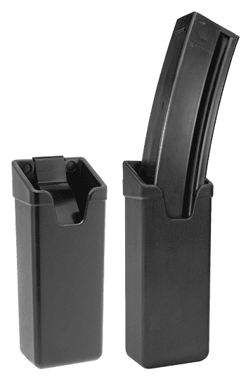 Plastic holder for magazine of the rifle HK MP5 / UZI
